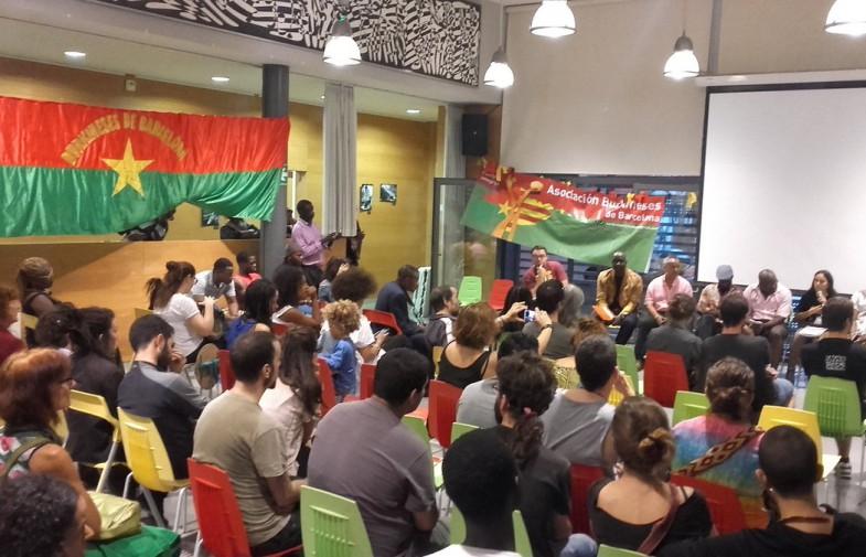 La memòria i lluita de Sankara recalen a Barcelona