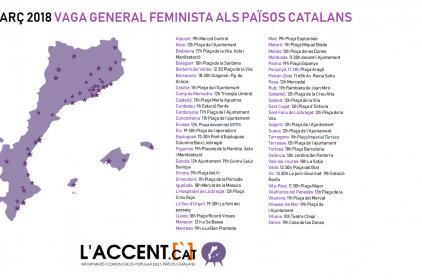 8 de març de 2018: Vaga general Feminista als Països Catalans