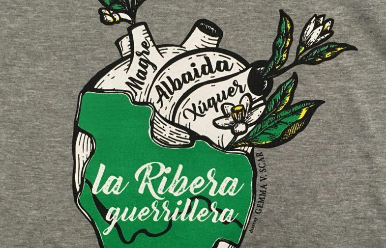 Els Joves del País Valencià (de Compromís) caricaturitzen la defensa del territori