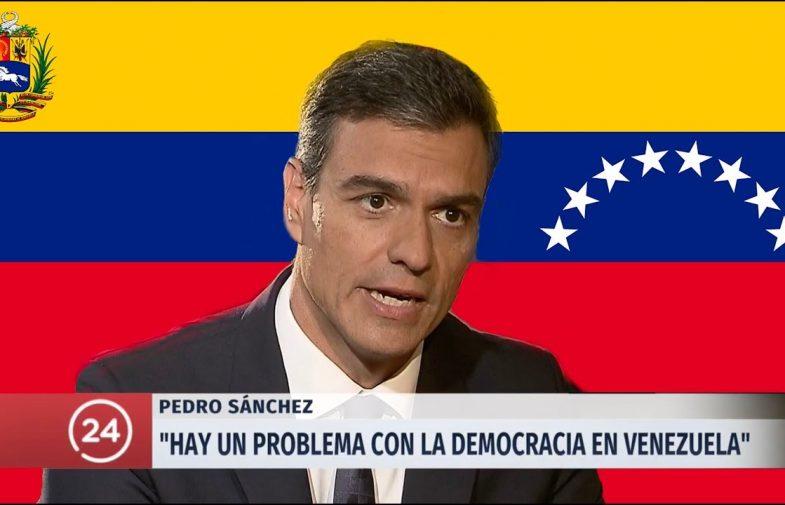 Les mentides de Sánchez sobre Veneçuela