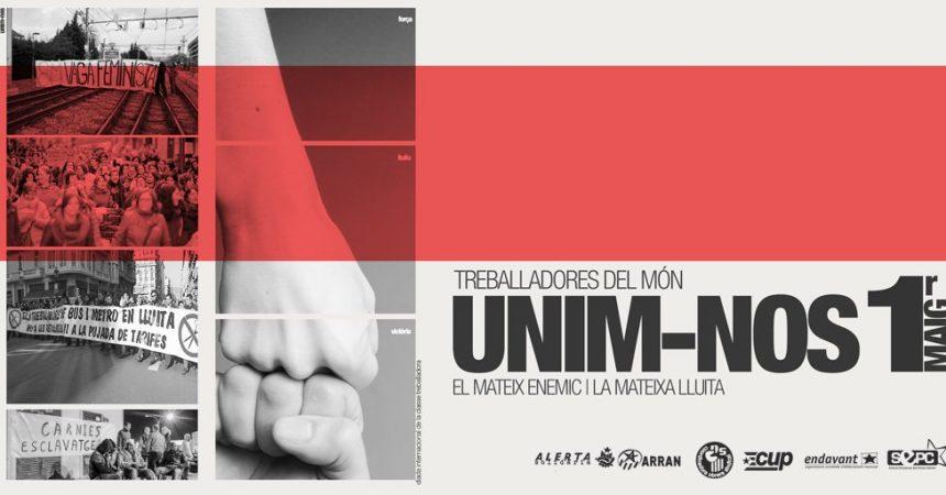 Convocatòries de l'1 de maig als Països Catalans