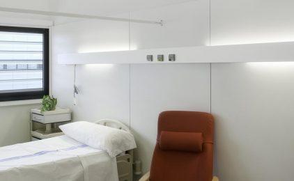 Dormir en terra a l'hospital