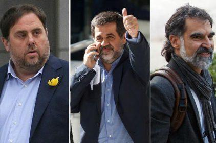 L'ONU reclama l'alliberament immediat dels presos polítics Jordi Sànchez, Jordi Cuixart i Oriol Junqueras.
