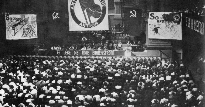 Amb la vida digna al centre per combatre el feixisme