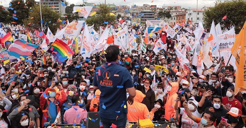 Equador: amenaça de cop judicial contra les eleccions que poden tornar l'esquerra al poder