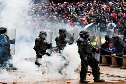Colòmbia en flames