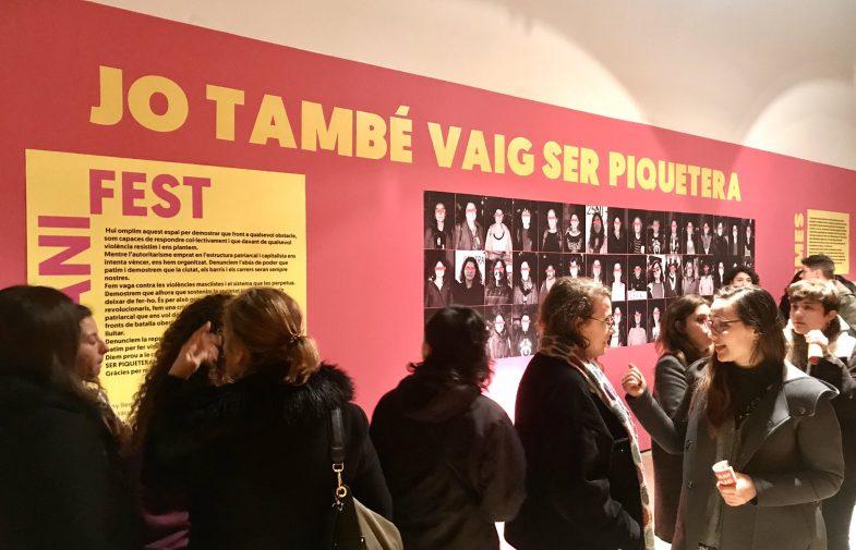 «Jo també vaig ser piquetera»: el moviment feminista, dels carrers als museus